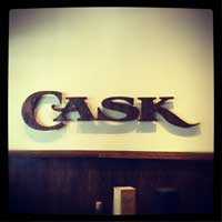 Cask wall sign